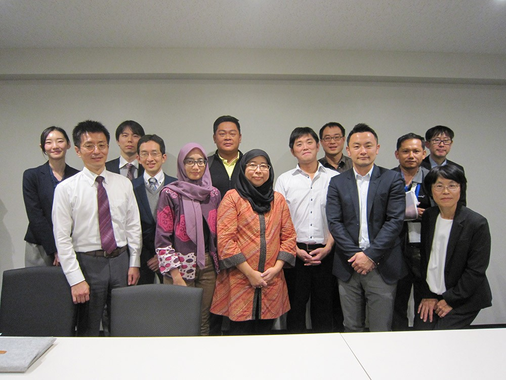 """Attending the """"Technical training on developing adaptation platforms in Thailand and Indonesia"""" event in Tokyo, Japan"""